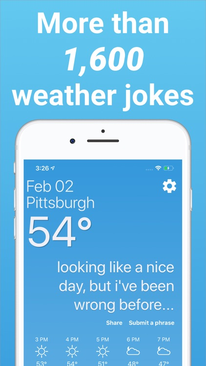 Funny Weather - Rude Forecasts