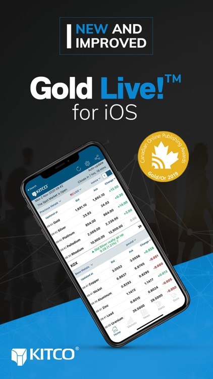 Gold Live! Gold Price, Silver