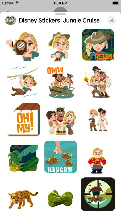 Jungle Cruise Stickers screenshot 3