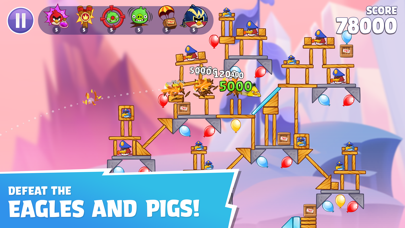 Angry Birds Reloaded screenshot 3