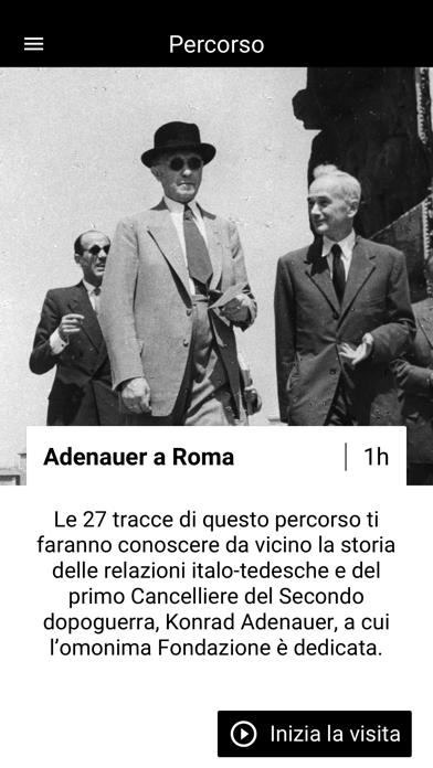 Adenauer a Roma screenshot 1