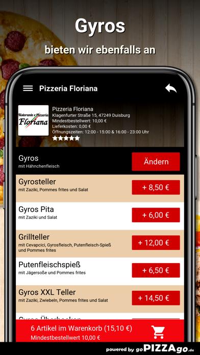 Pizzeria Floriana Duisburg screenshot 6