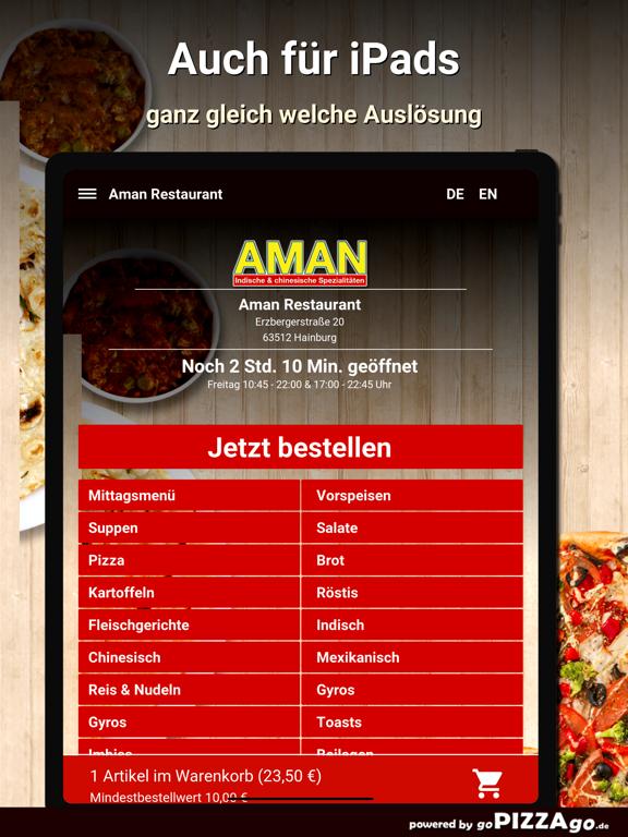 Aman Restaurant Hainburg screenshot 8