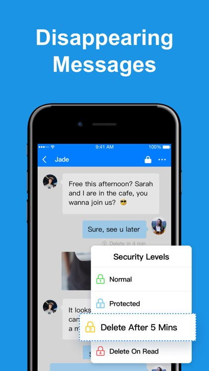CoverMe Private Text & Call screenshot-3