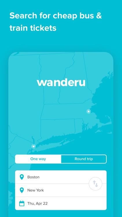 Wanderu: Bus & Train Tickets screenshot-3