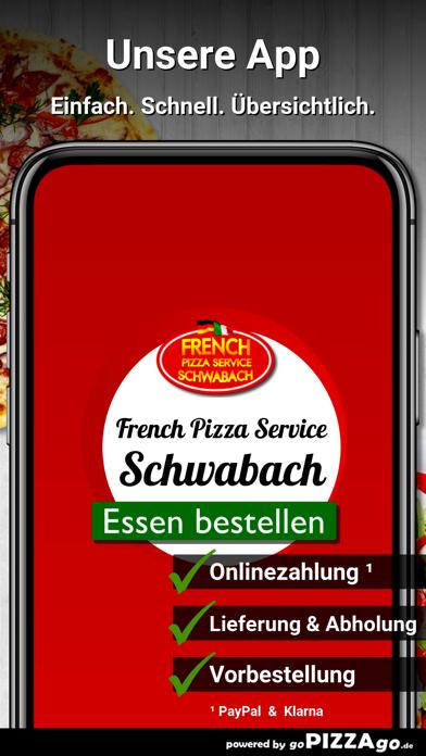 French Pizza Service Schwabach screenshot 1