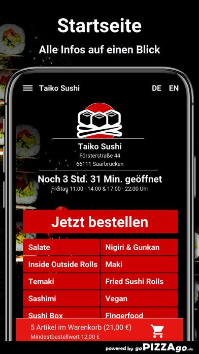 Taiko Sushi Saarbrücken screenshot 2