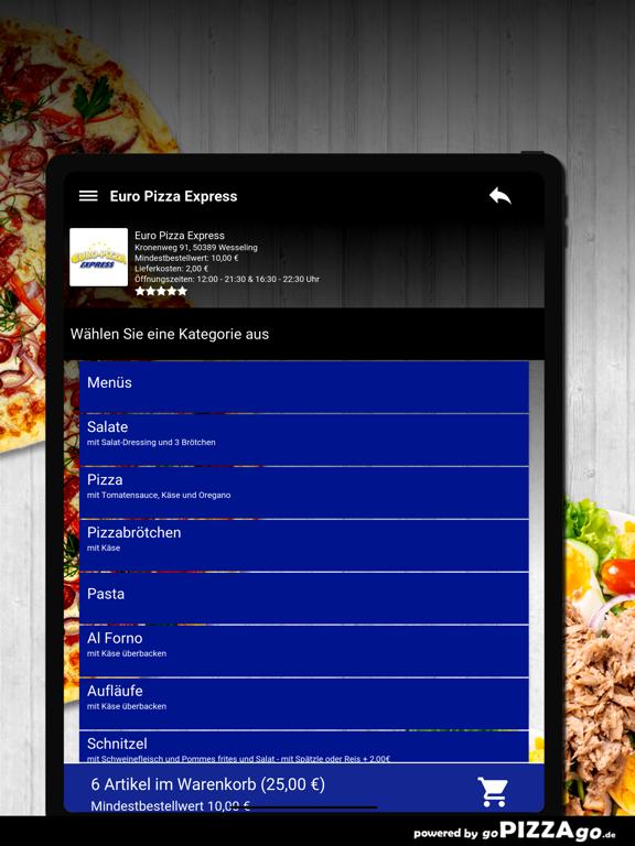 Euro Pizza Express Wesseling screenshot 8