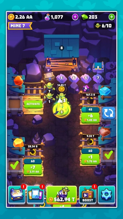 Gold and Goblins: Idle Merger screenshot-6