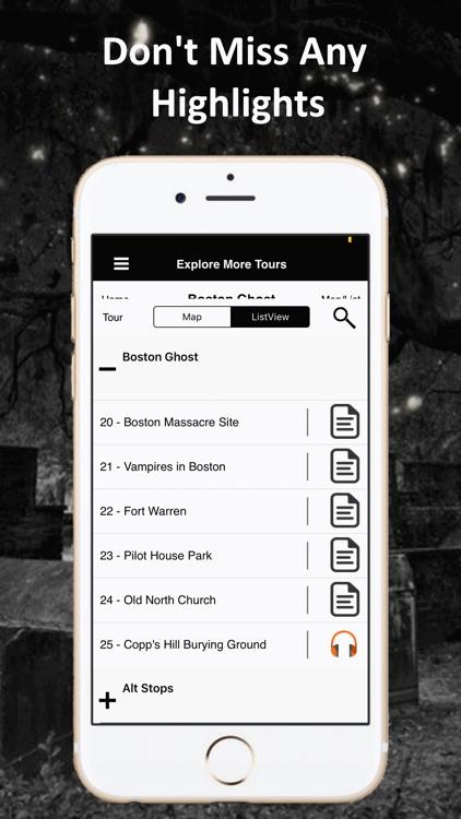 Boston Ghosts Audio Tour Guide screenshot-5