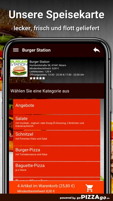 Burger Station Moers screenshot 4