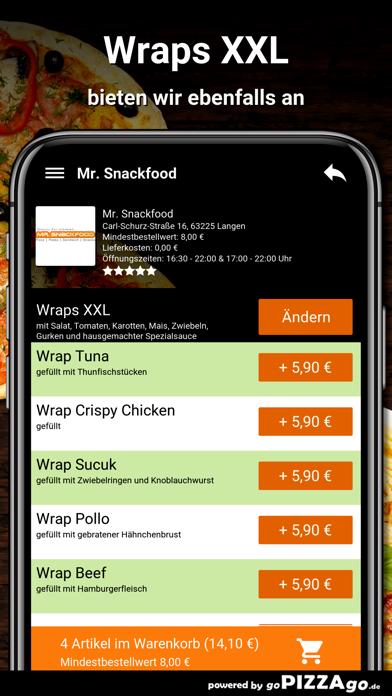 Mr. Snackfood Langen screenshot 6
