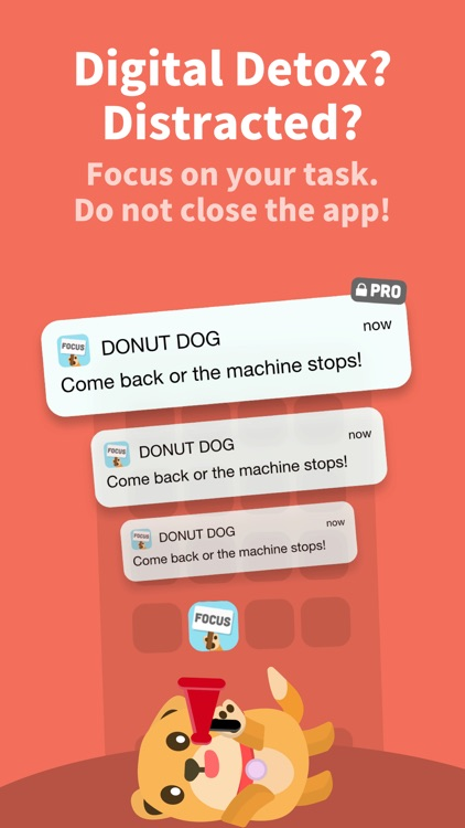 Donut Dog: Stay focused timer screenshot-4