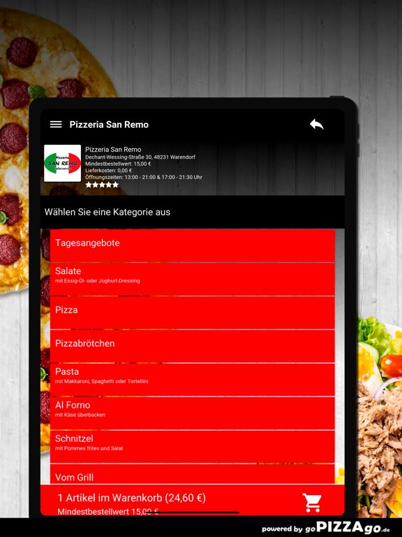 Pizzeria San Remo Warendorf screenshot 8