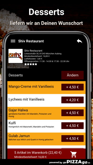 Shiv München Aubing screenshot 6