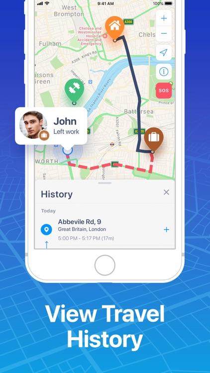 FindMe: Find My Friends, Phone screenshot-7