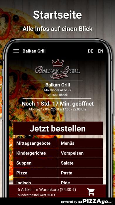 Balkan-Grill Lübeck screenshot 2