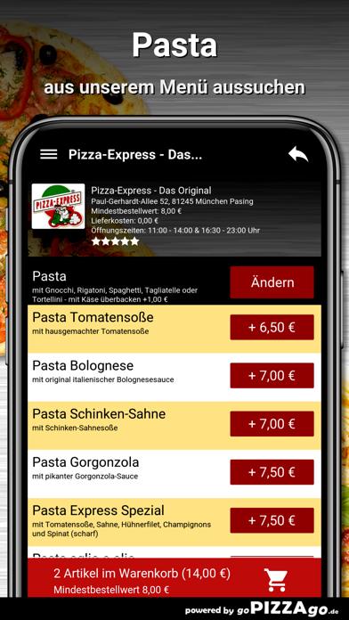 Pizza-Express München Pasing screenshot 5