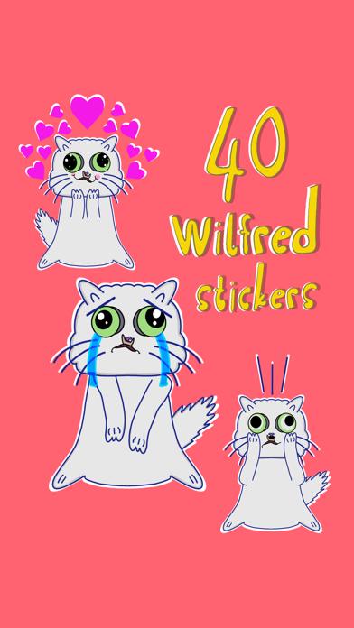 Wilfred Warrior Stickers screenshot 2