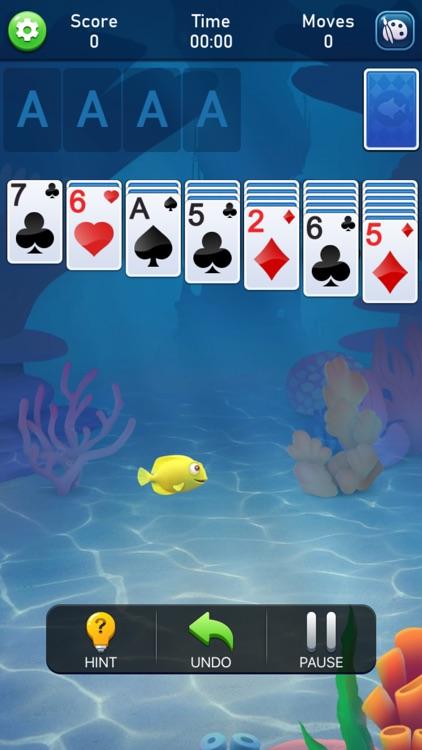 Solitaire Klondike Fish