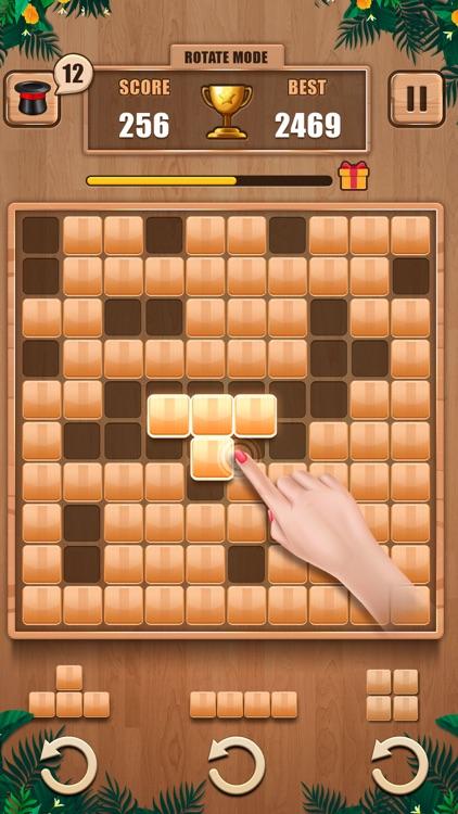 Wooden 100 Block - Hexa Puzzle screenshot-5