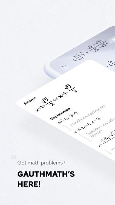 Gauthmath - Talk to tutors now screenshot 1