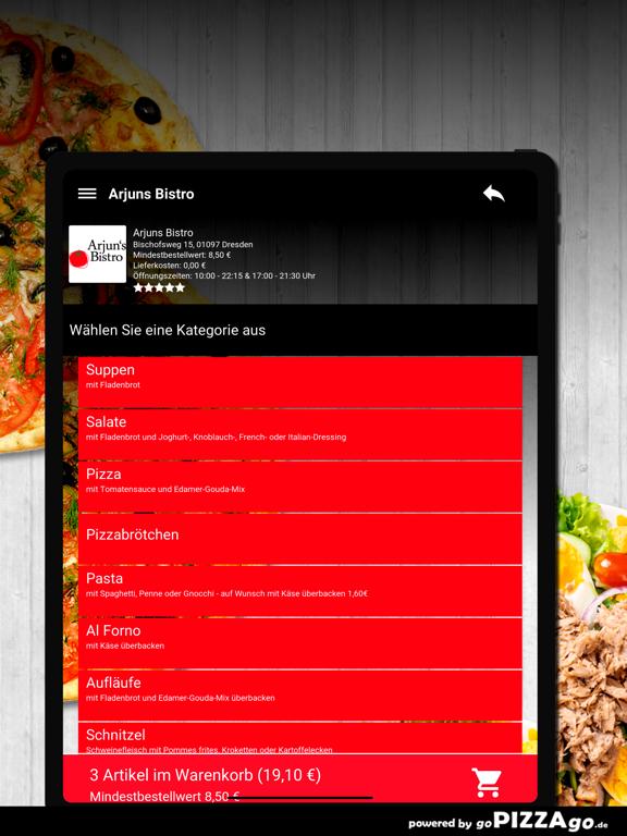Arjuns Bistro Dresden screenshot 8