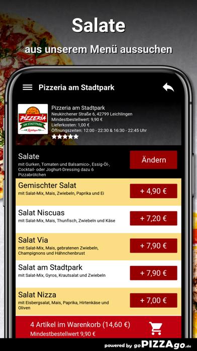 Pizzeria Stadtpark Leichlingen screenshot 5