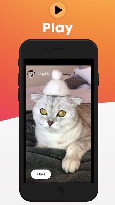 SnapTikCaptura de pantalla de3