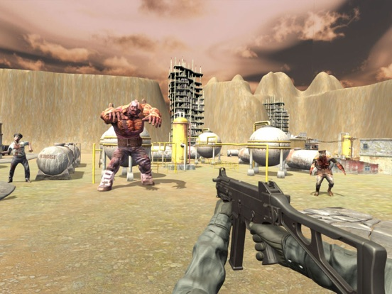 Army Of The Dead 3D- MMORPG screenshot 7