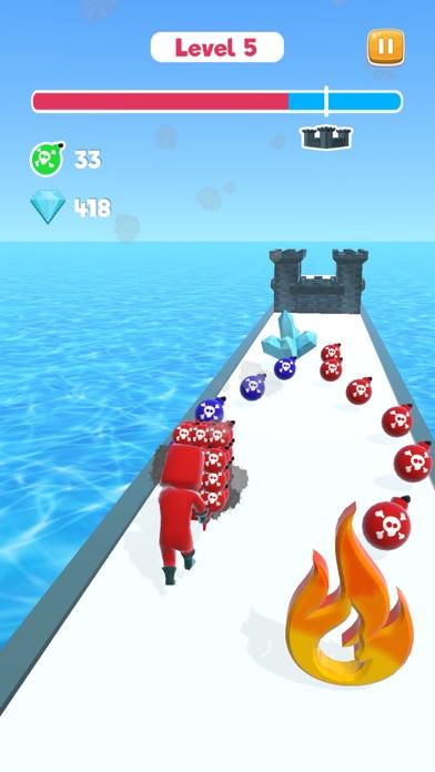 Bomber Rush 3D screenshot 1