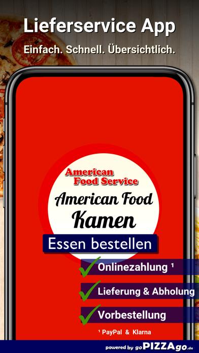 American Food Service Kamen screenshot 1