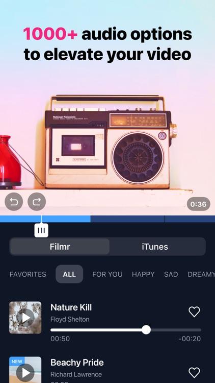 Filmr- 4k Video Editor & Maker screenshot-4