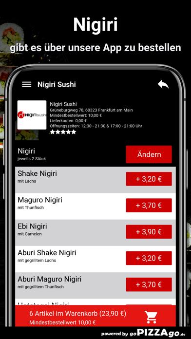 Nigiri Sushi Frankfurt am Main screenshot 6