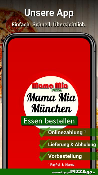 Mama Mia Pizza München screenshot 1