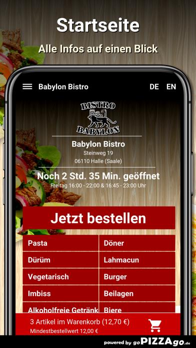 Babylon Bistro Halle (Saale) screenshot 2