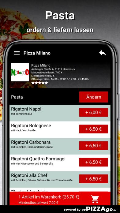 Pizza Milano Hersbruck screenshot 6