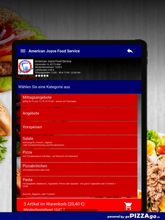 American Joyce Food Marl screenshot 8