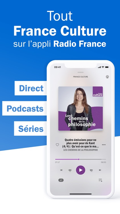 Radio France - radio, podcast screenshot-8