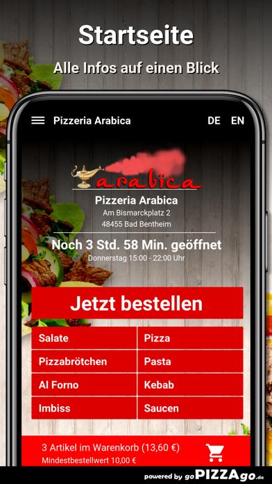 Pizzeria Arabica Bad Bentheim screenshot 2