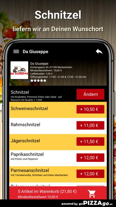 Da Giuseppe Meckenheim screenshot 1