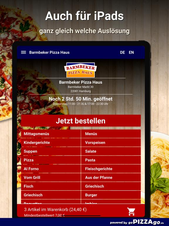 Barmbeker Pizza Haus Hamburg screenshot 7