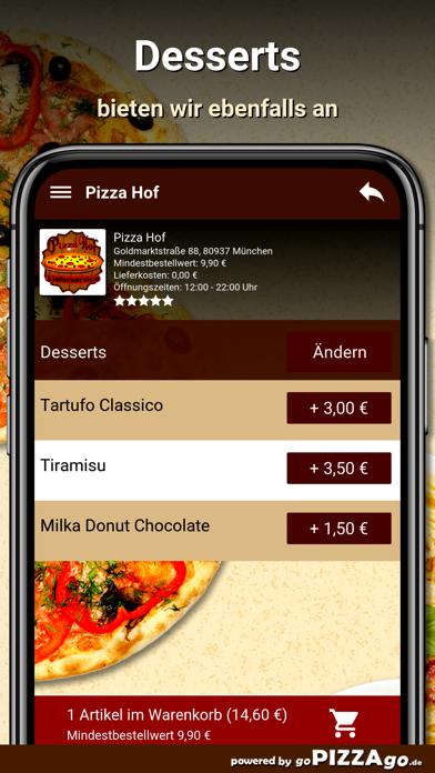Pizza Hof München screenshot 6