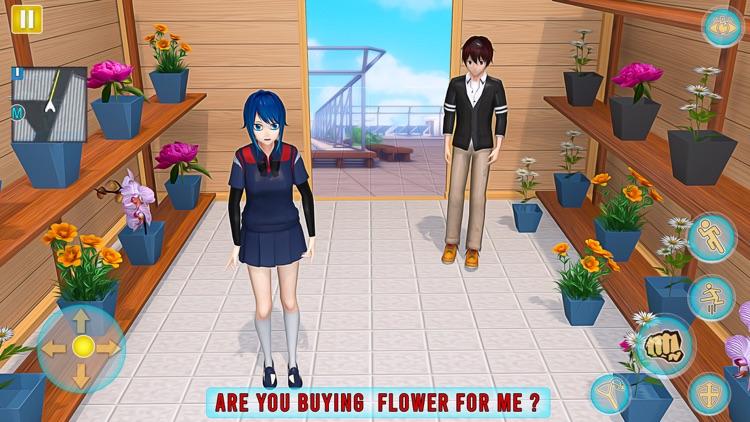 Anime Girl Yandere School Life screenshot-7