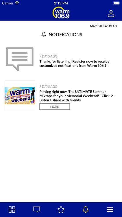 WARM 106.9 screenshot-5