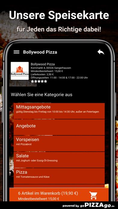 Bollywood Pizza Sangerhausen screenshot 4