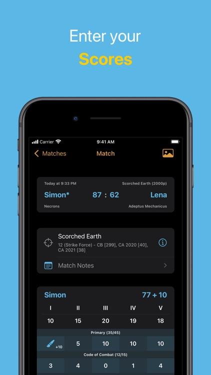 WH40K Scores screenshot-6