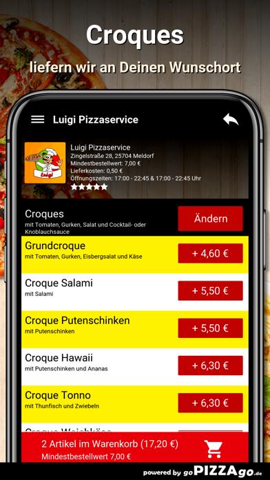 Luigi Pizzaservice Meldorf screenshot 3