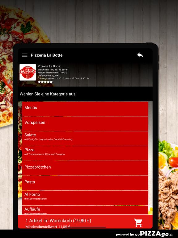 Pizzeria La Botte Essen screenshot 8