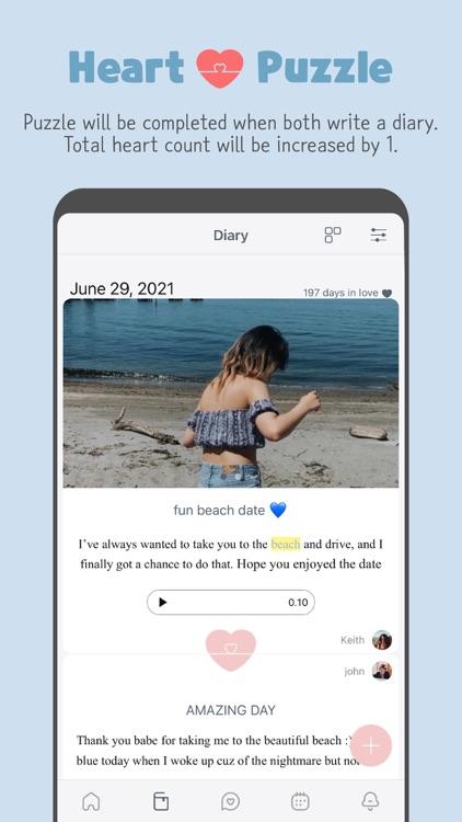 LuvDiary - Couple relationship screenshot-3